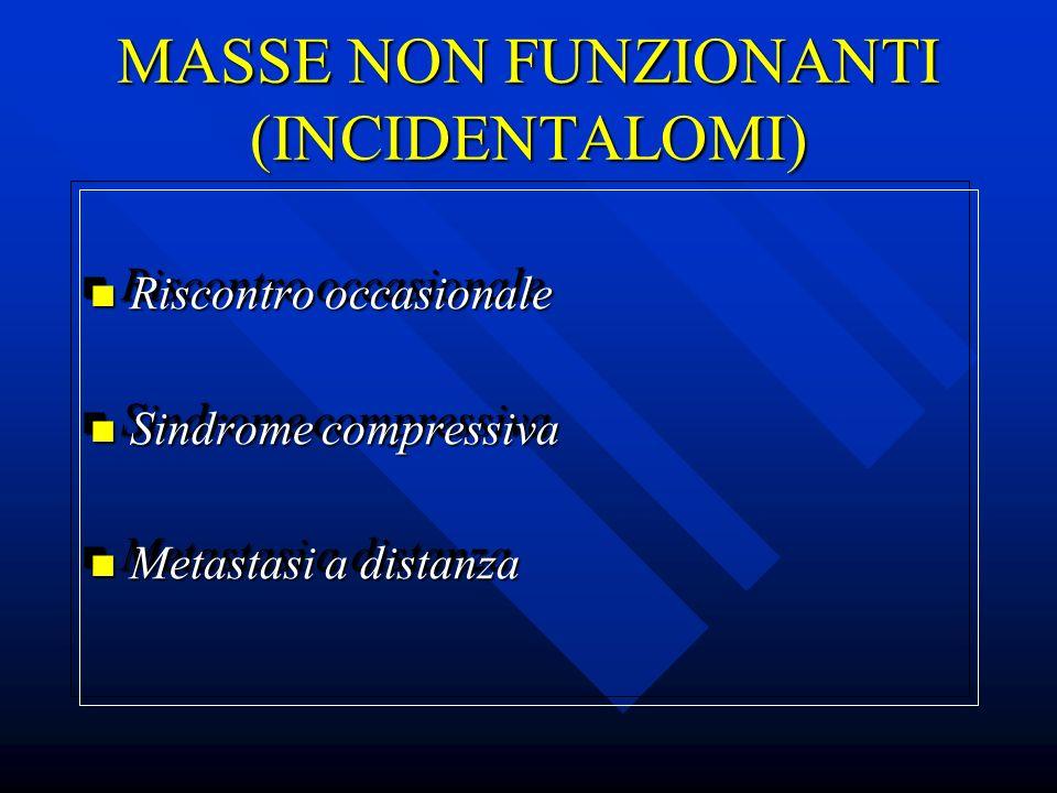 MASSE NON FUNZIONANTI (INCIDENTALOMI)