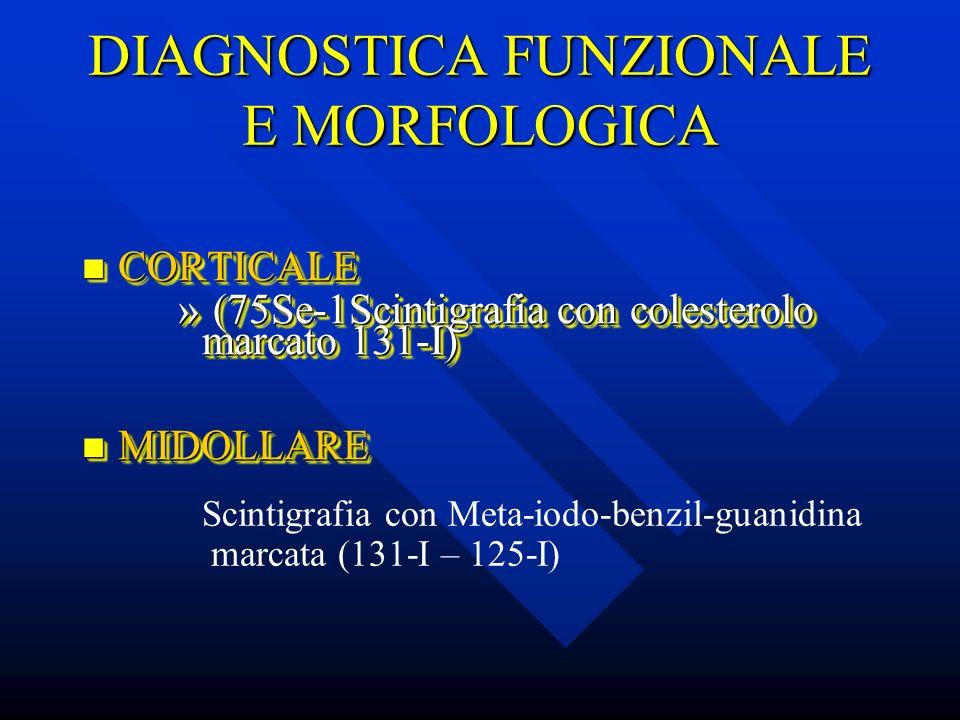 DIAGNOSTICA FUNZIONALE E MORFOLOGICA