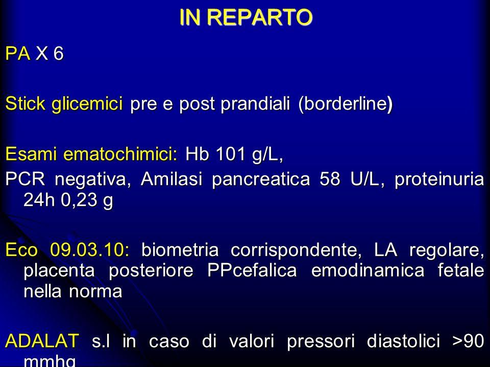IN REPARTO PA X 6 Stick glicemici pre e post prandiali (borderline)