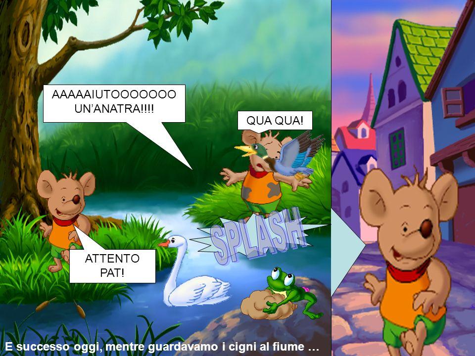 SPLASH AAAAAIUTOOOOOOO UN'ANATRA!!!! QUA QUA! ATTENTO PAT!