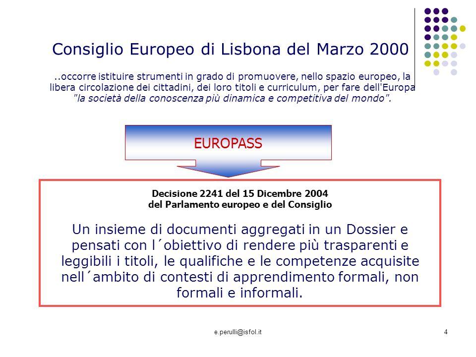 Consiglio Europeo di Lisbona del Marzo 2000