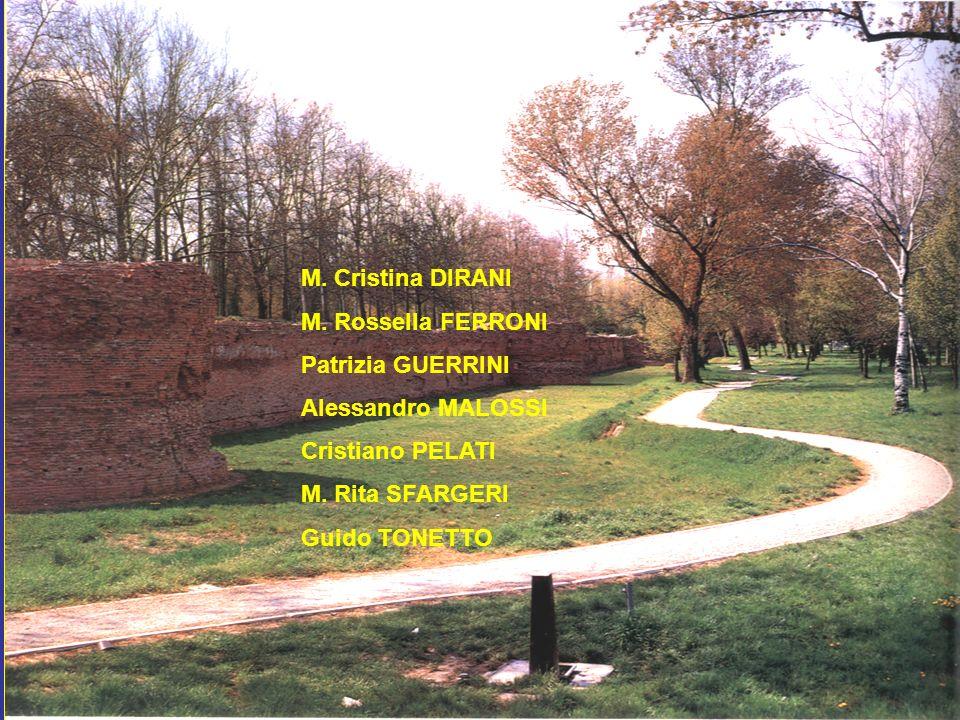 M. Cristina DIRANI M. Rossella FERRONI. Patrizia GUERRINI. Alessandro MALOSSI. Cristiano PELATI.