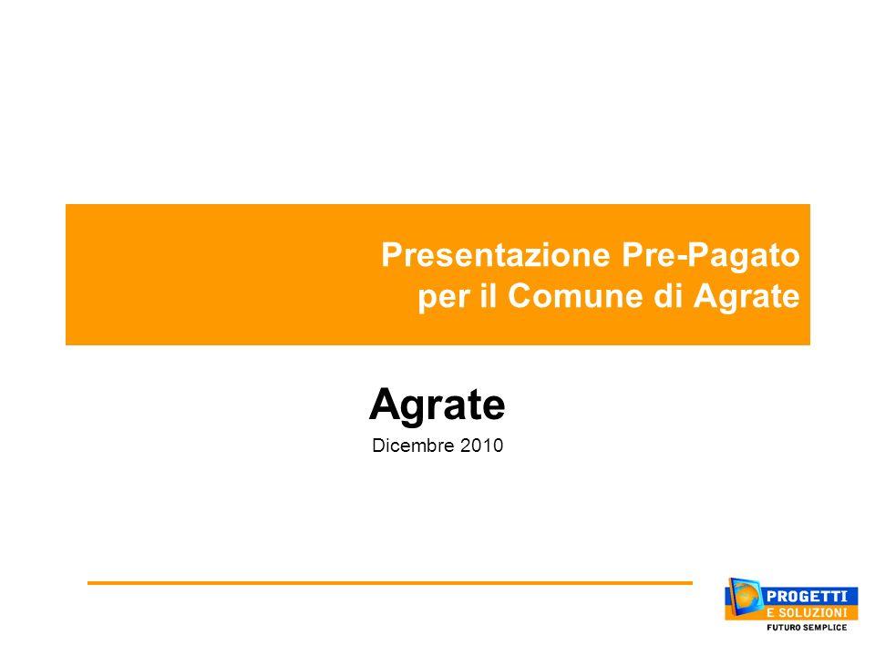 Presentazione Pre-Pagato per il Comune di Agrate