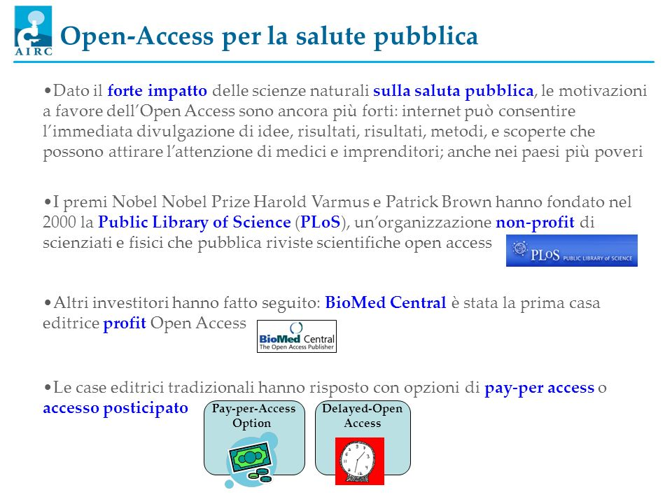 Pay-per-Access Option