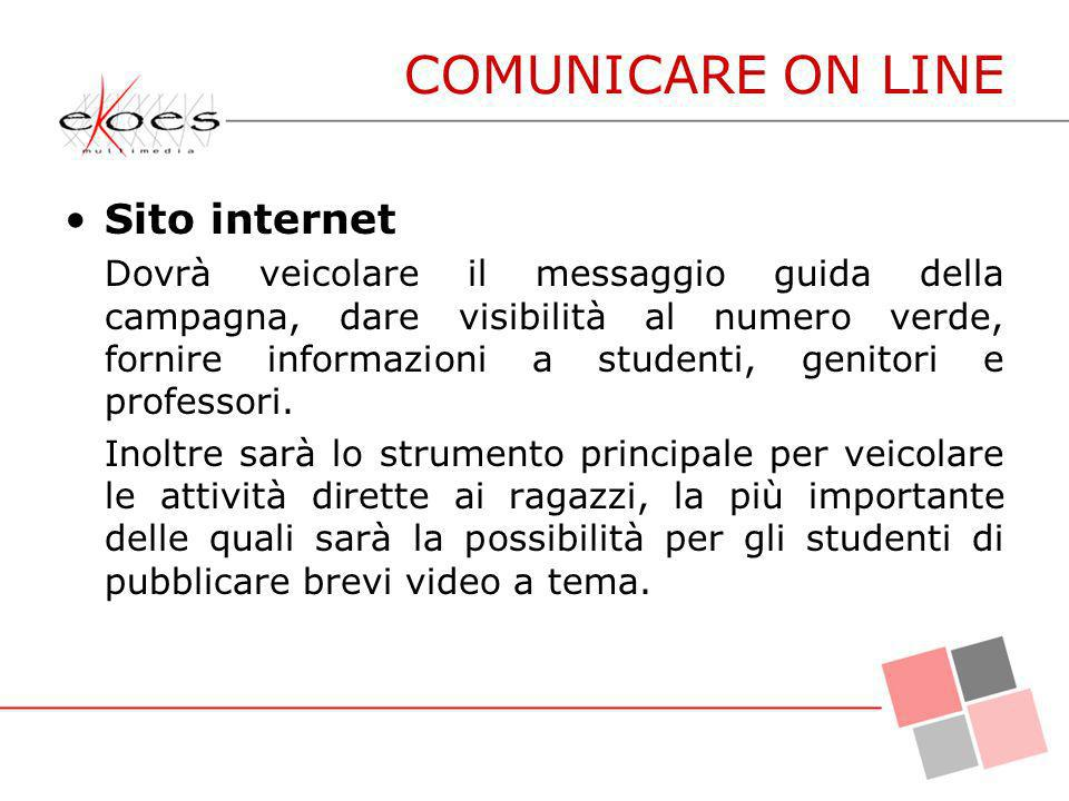 COMUNICARE ON LINE Sito internet