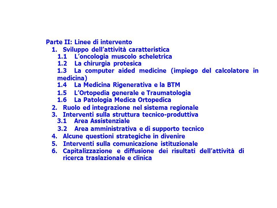 3.2 Area amministrativa e di supporto tecnico