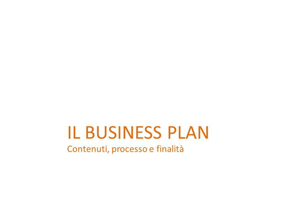 IL BUSINESS PLAN Contenuti, processo e finalità