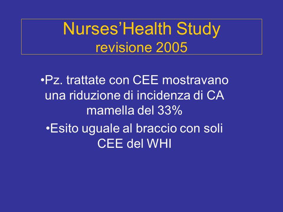 Nurses'Health Study revisione 2005