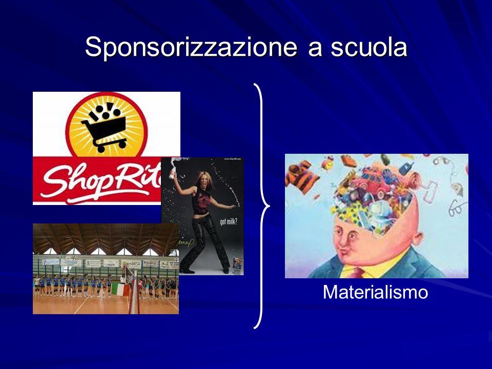 Sponsorizzazione a scuola