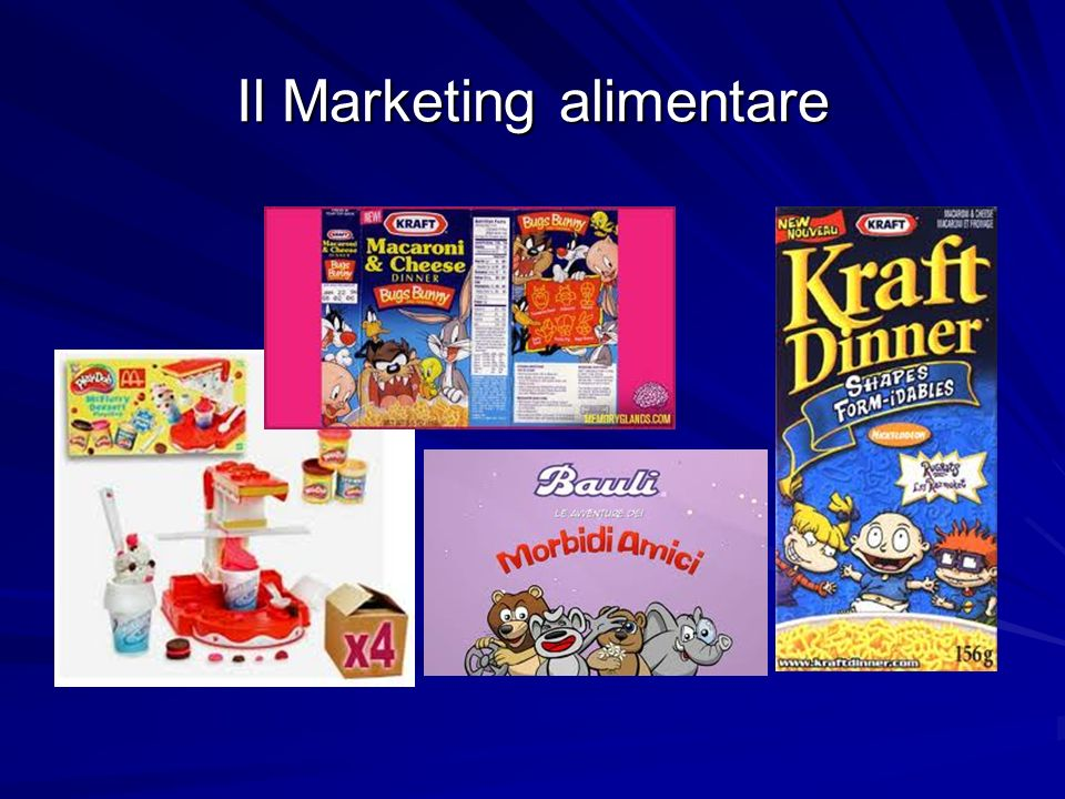 Il Marketing alimentare
