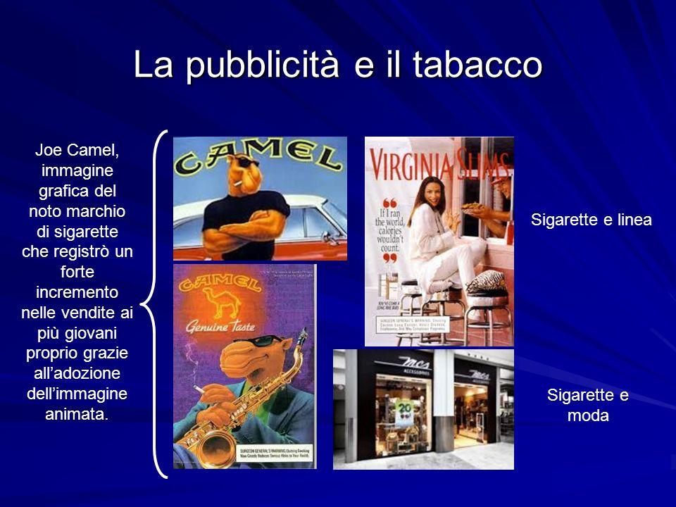 La pubblicità e il tabacco