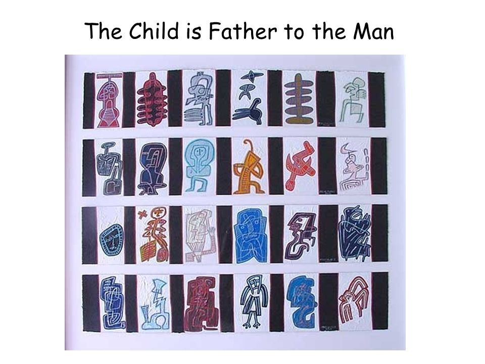 The Child is Father to the Man