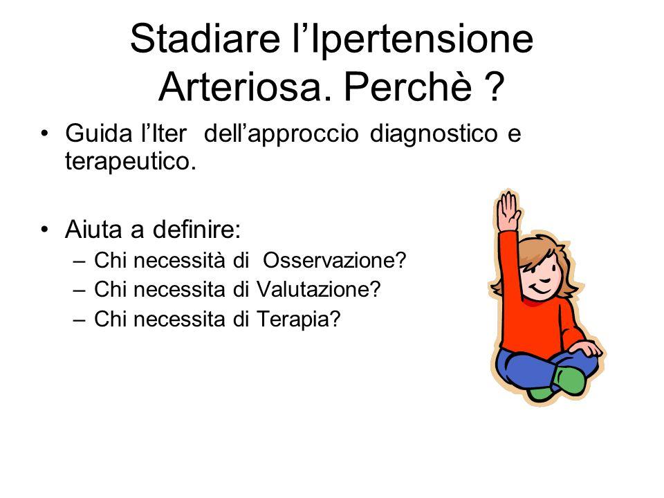 Stadiare l'Ipertensione Arteriosa. Perchè