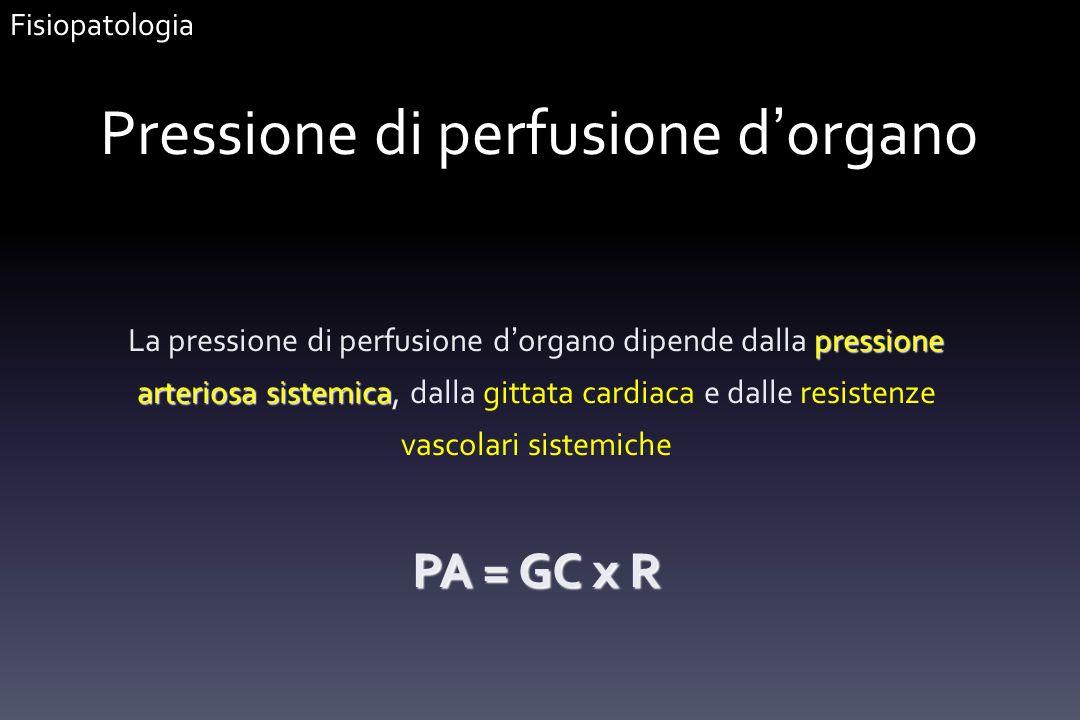 Pressione di perfusione d'organo