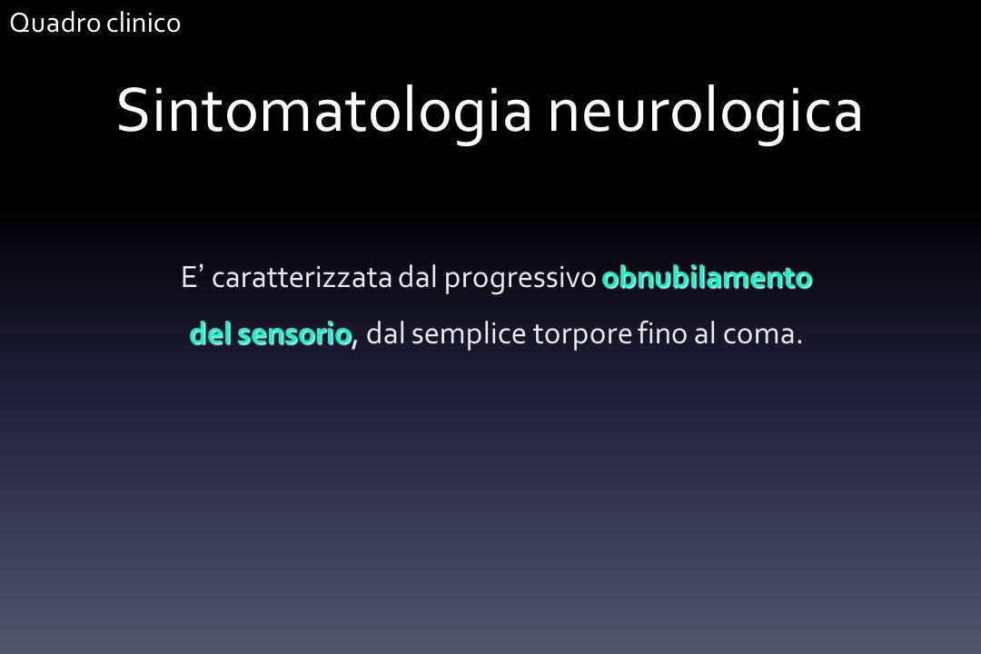 Sintomatologia neurologica