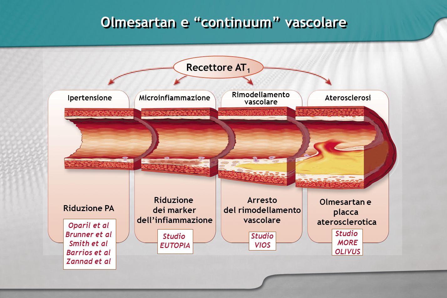 Olmesartan e continuum vascolare