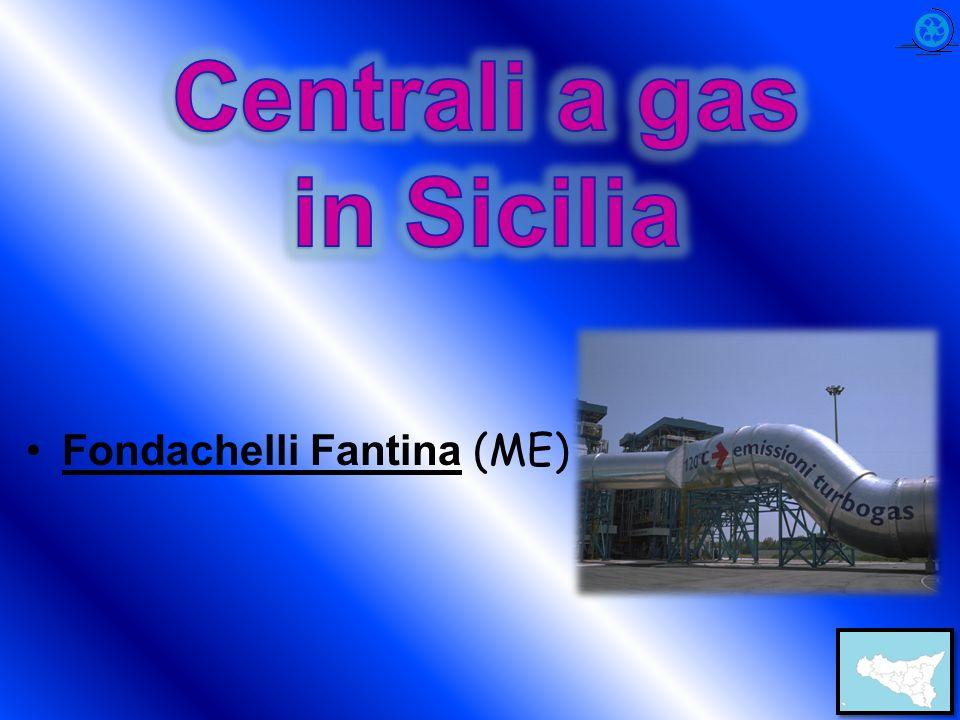 Centrali a gas in Sicilia