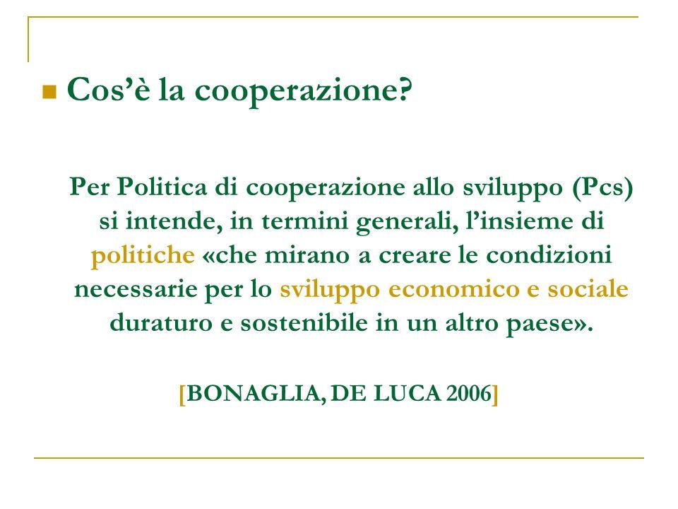 Cos'è la cooperazione