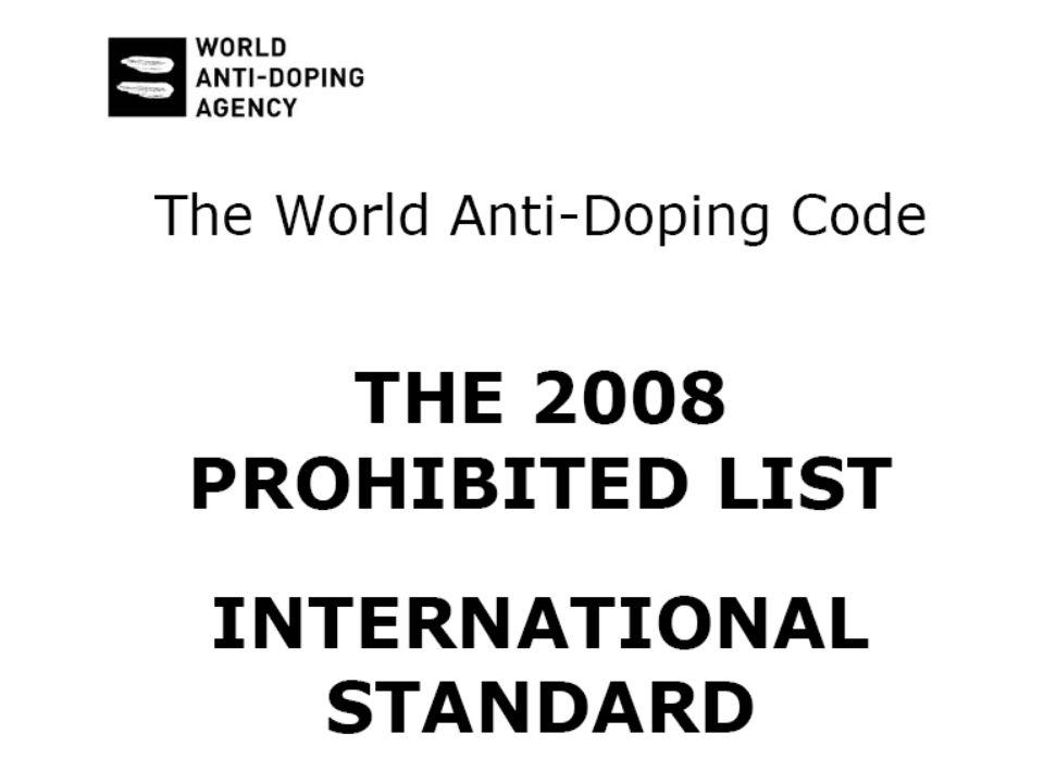 La lista viene aggiornata dalla commissione ogni anno
