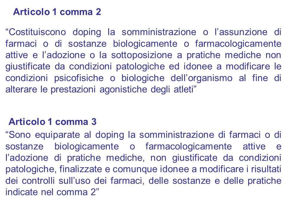 Articolo 1 comma 2