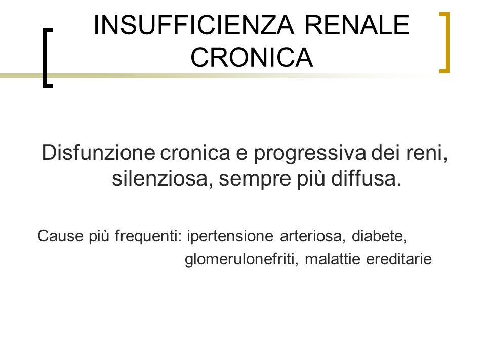 INSUFFICIENZA RENALE CRONICA