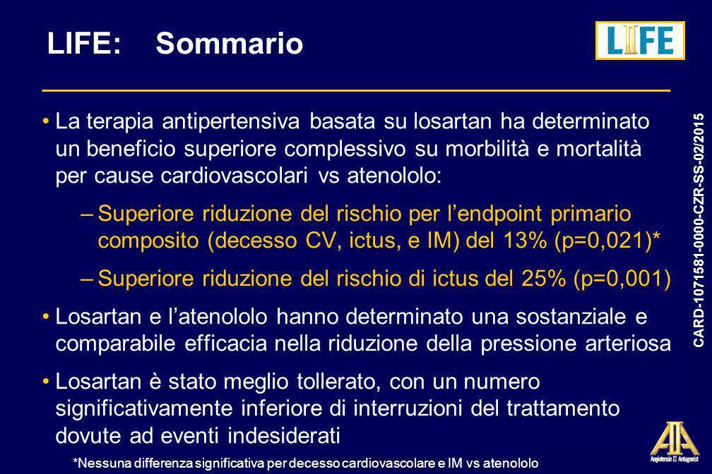 LIFE: Sommario