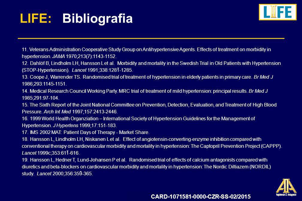 LIFE: Bibliografia CARD-1071581-0000-CZR-SS-02/2015