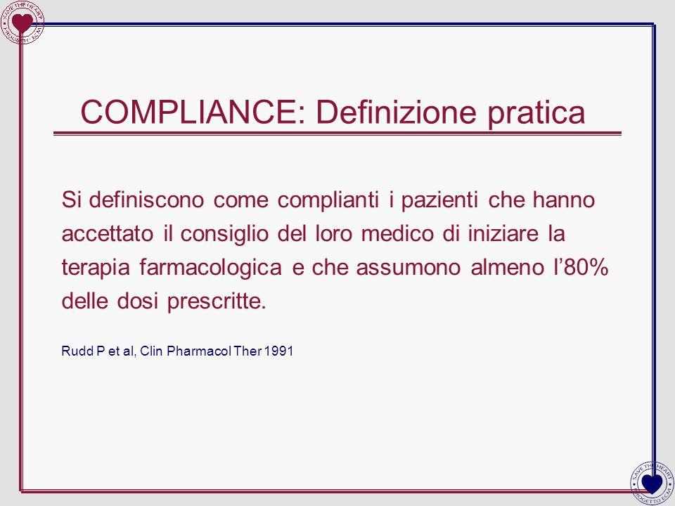 COMPLIANCE: Definizione pratica