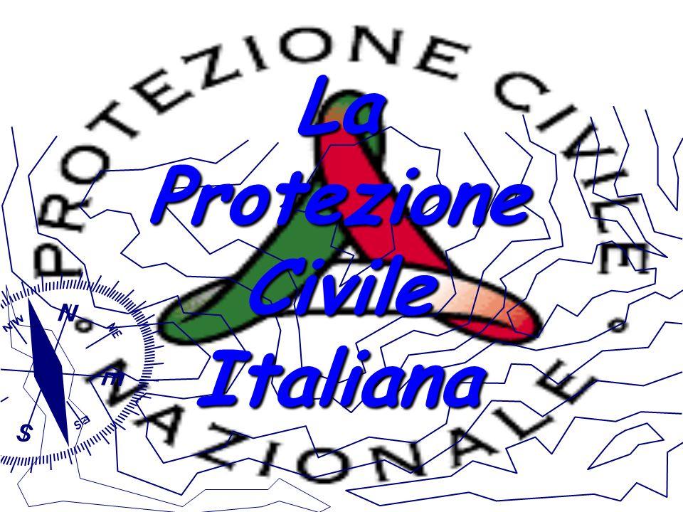 La Protezione Civile Italiana