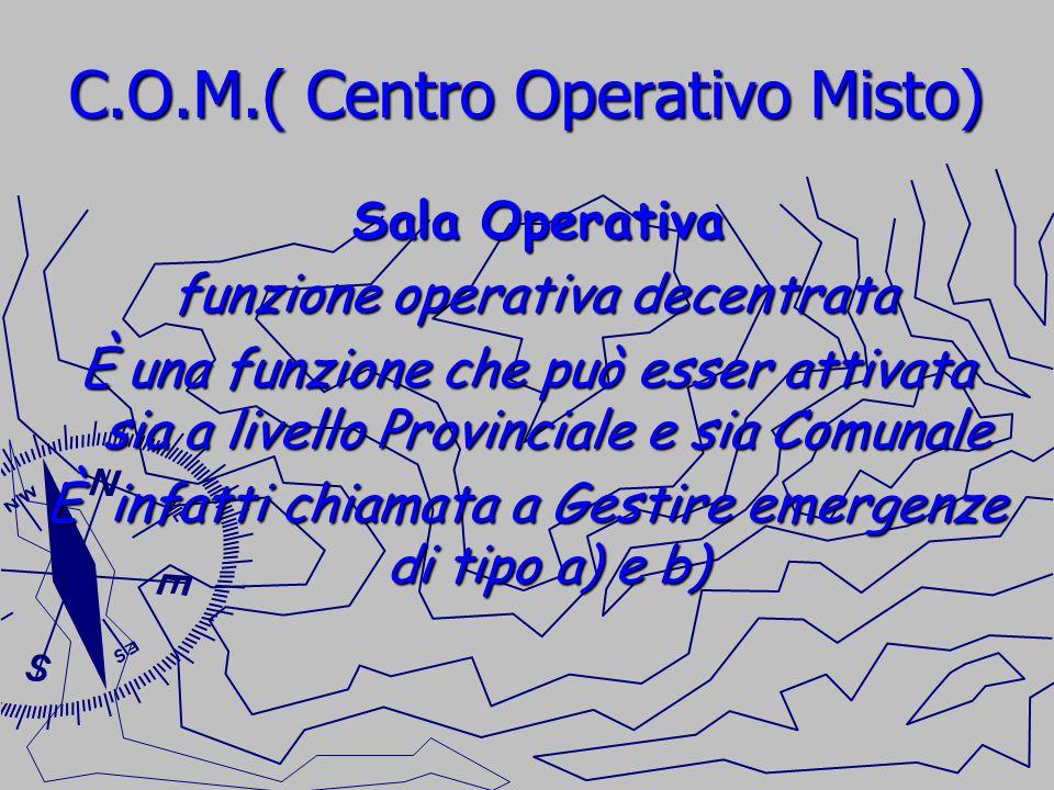C.O.M.( Centro Operativo Misto)