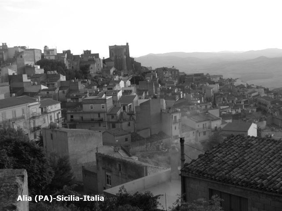 Alia (PA)-Sicilia-Italia
