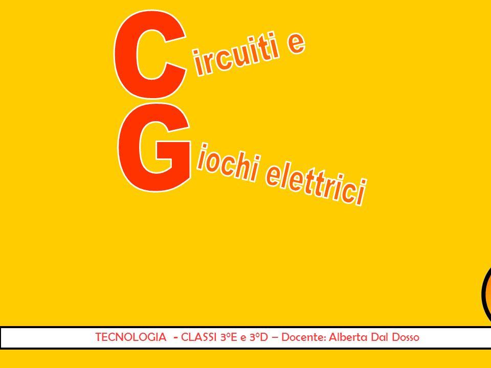TECNOLOGIA - CLASSI 3°E e 3°D – Docente: Alberta Dal Dosso