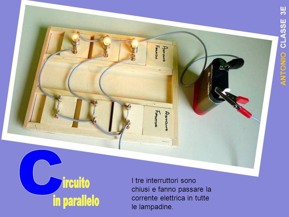 C ircuito in parallelo ANTONIO CLASSE 3E