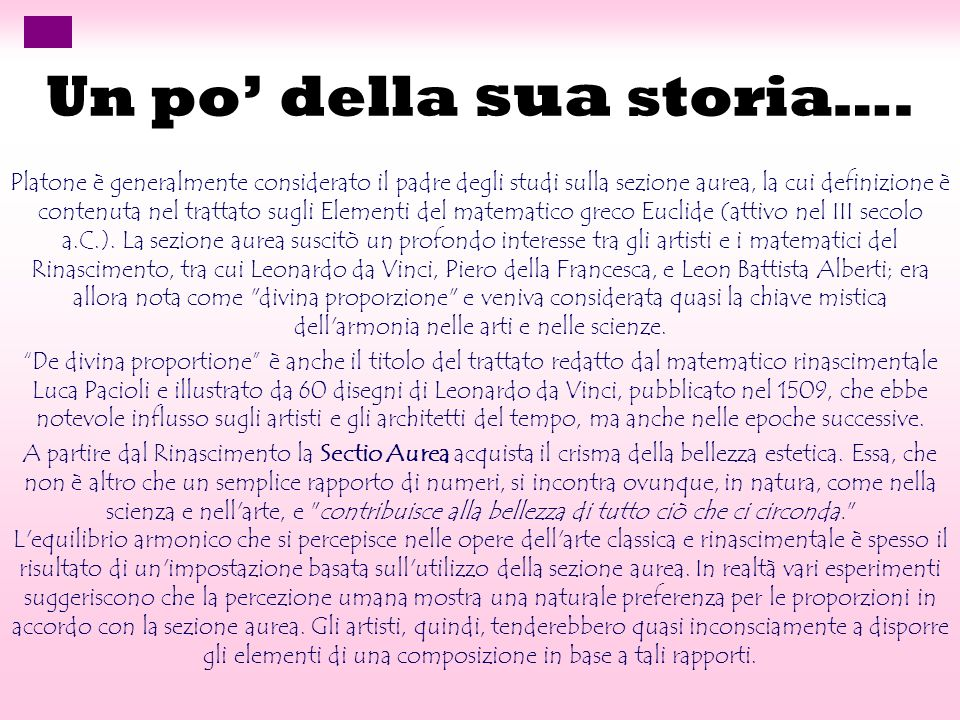 Un po' della sua storia….