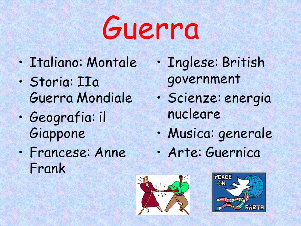 Guerra Italiano: Montale Storia: IIa Guerra Mondiale