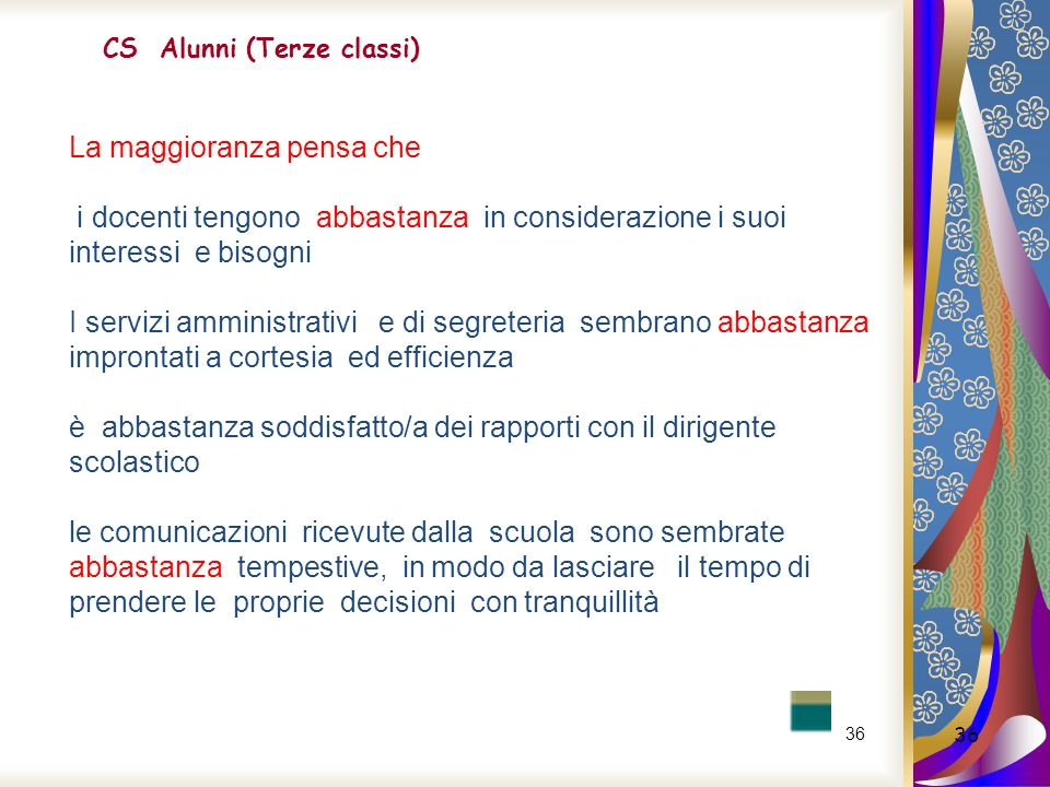 CS Alunni (Terze classi)