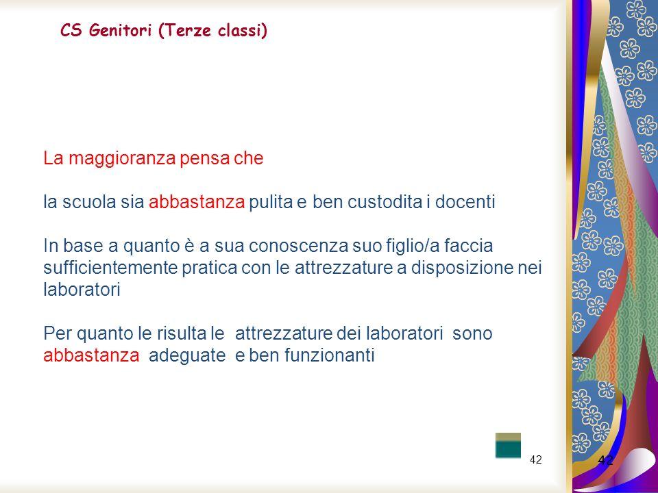CS Genitori (Terze classi)