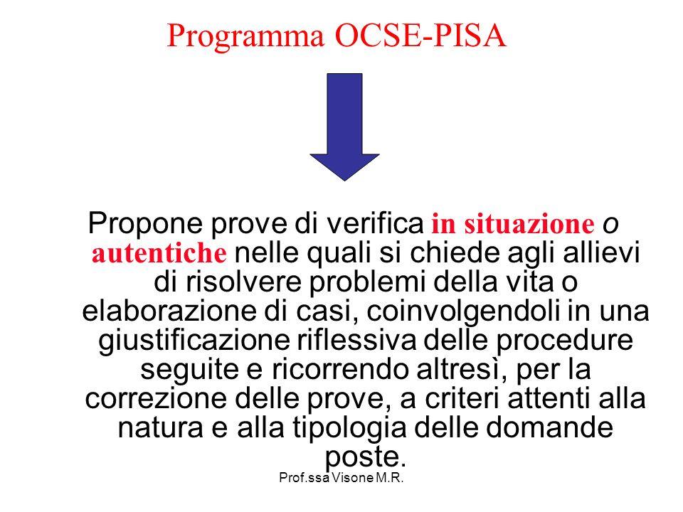 Programma OCSE-PISA
