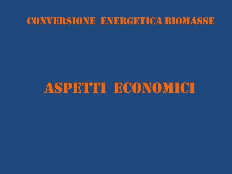 conversione energetica BIOMASSE