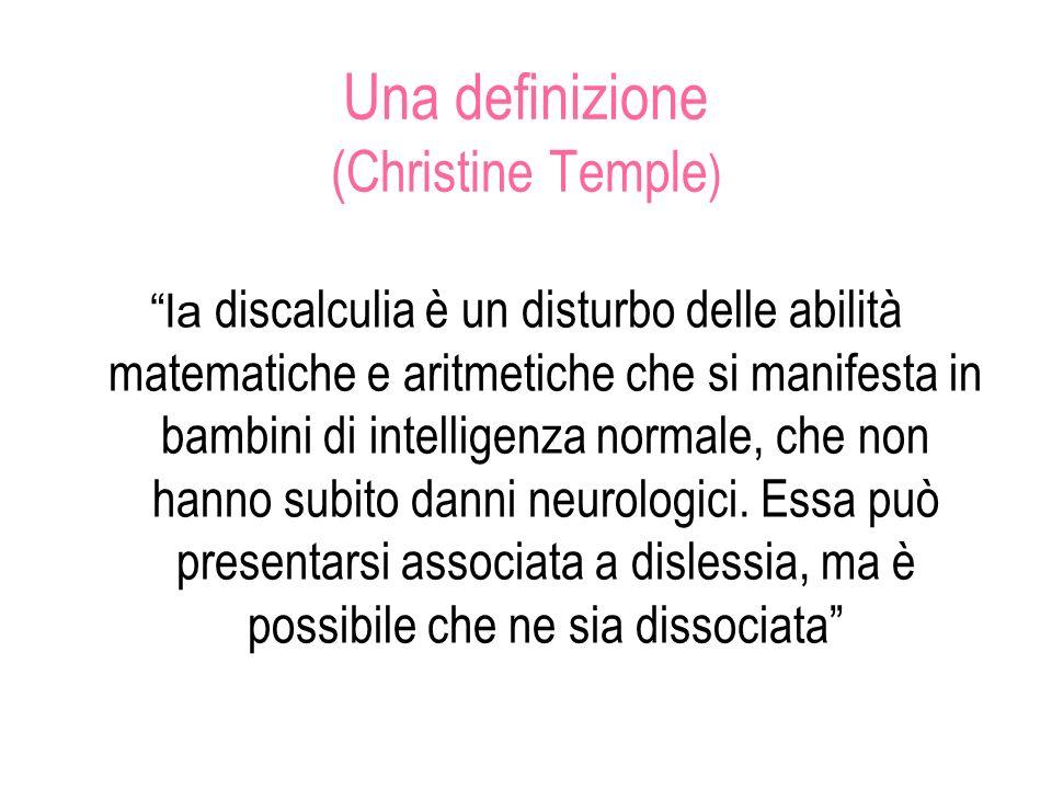 Una definizione (Christine Temple)