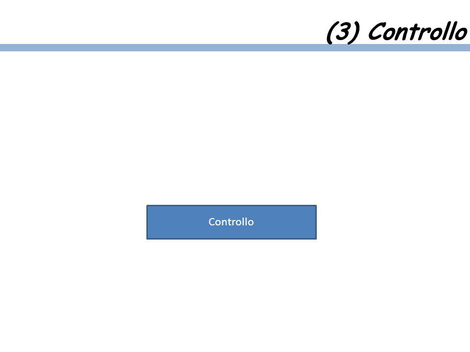 (3) Controllo Controllo
