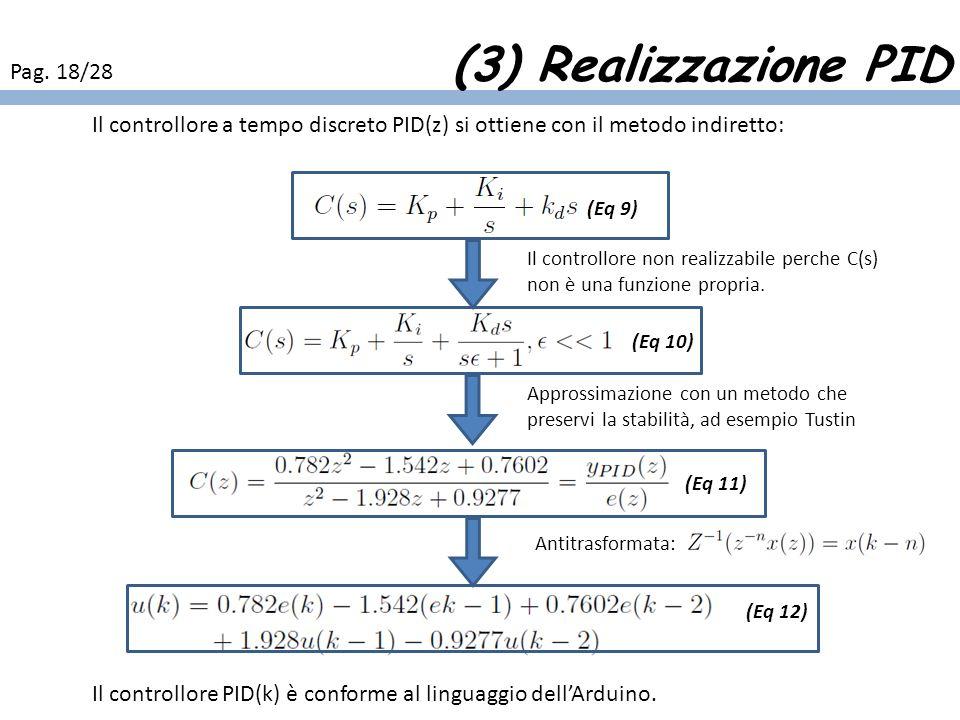 (3) Realizzazione PID Pag. 18/28