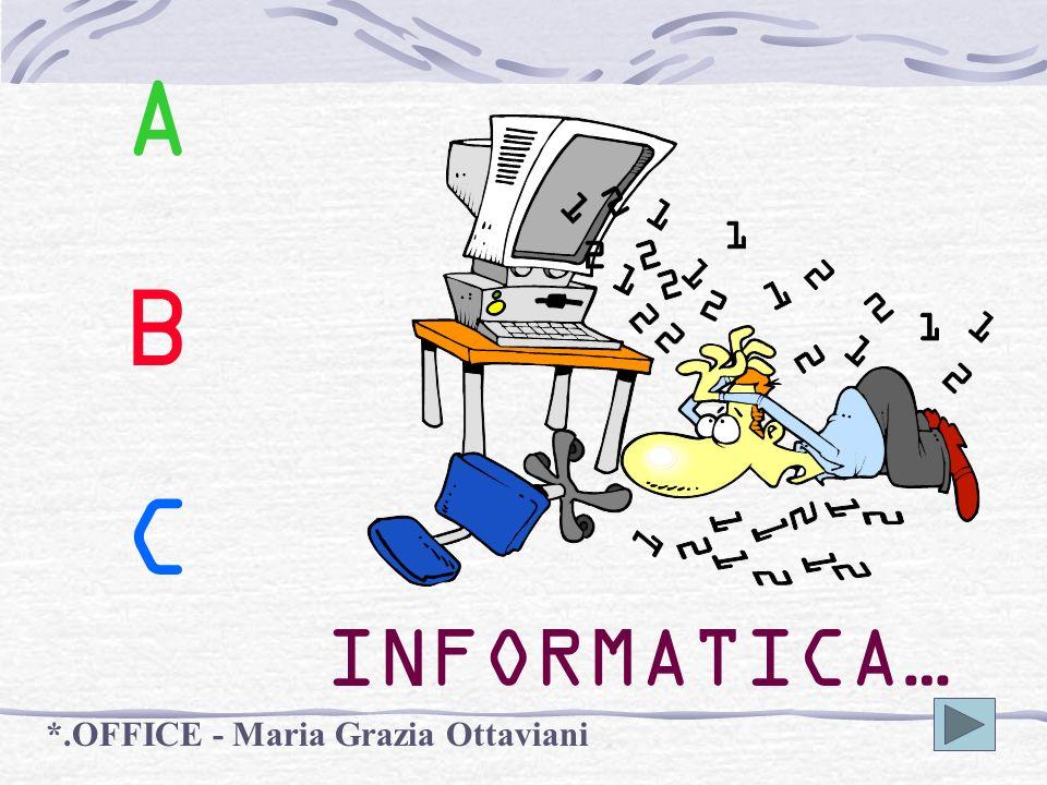 A B C INFORMATICA… *.OFFICE - Maria Grazia Ottaviani