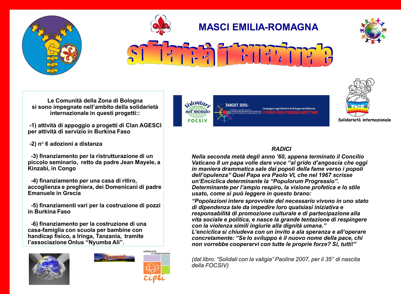 Le Comunità della Zona di Bologna