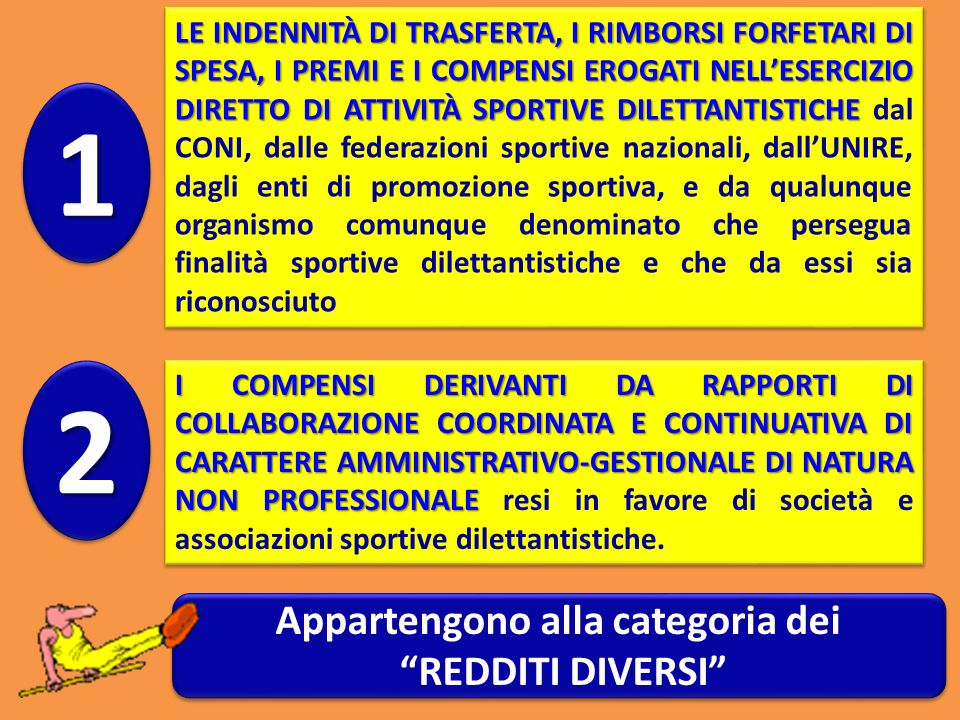 Appartengono alla categoria dei