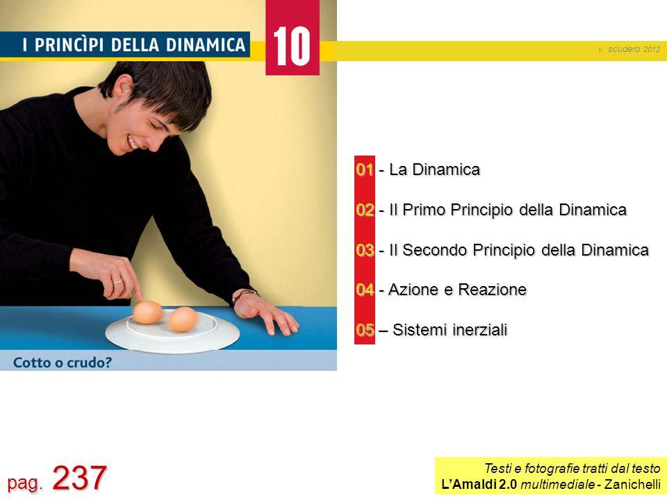 pag. 237 01 - La Dinamica 02 - Il Primo Principio della Dinamica