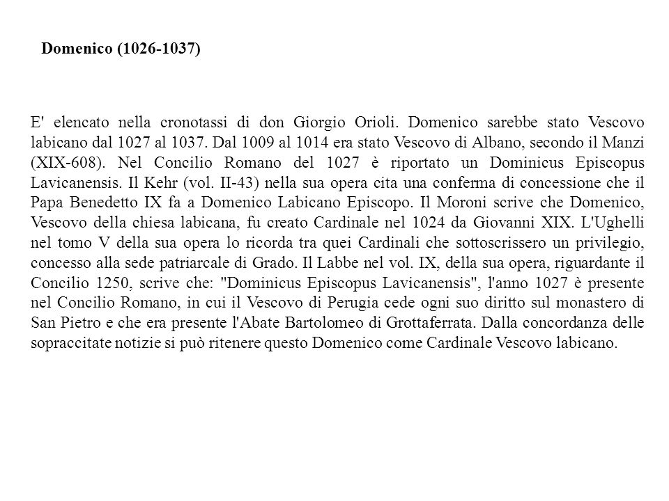 Domenico (1026-1037)