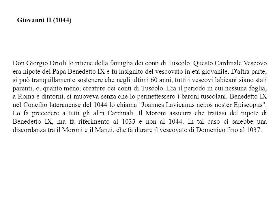 Giovanni II (1044)