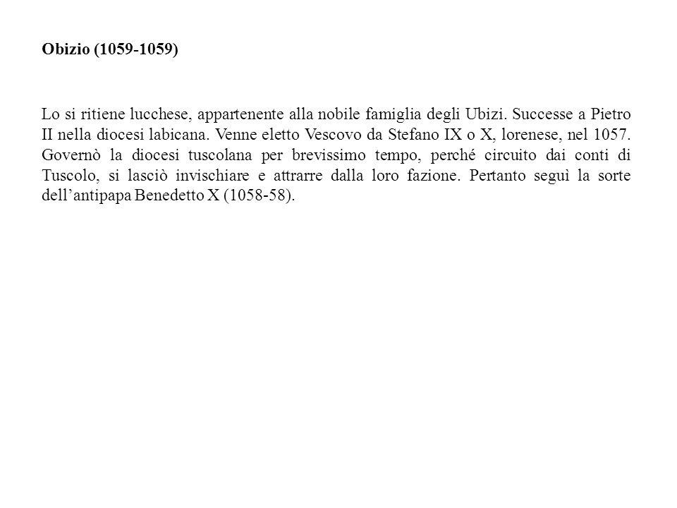 Obizio (1059-1059)