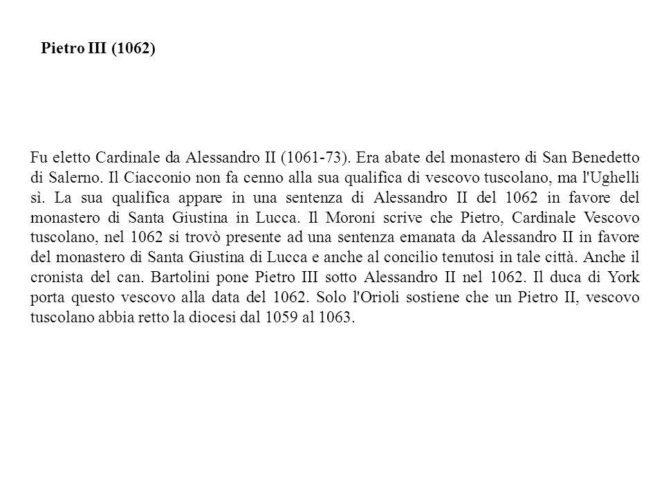 Pietro III (1062)